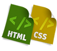 websites developed - html and css