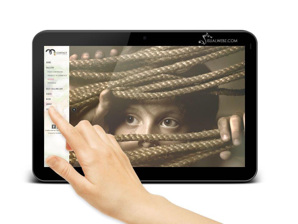 Visualwebzcom - WordPress, Photography Website Design