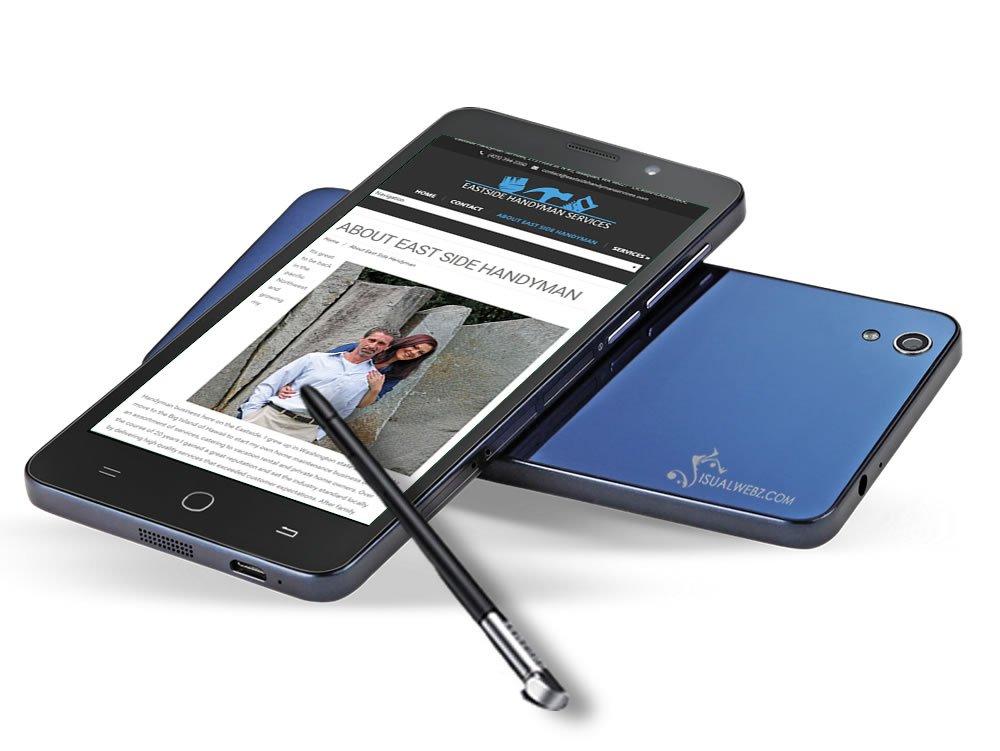 Seattle Web Design - Bellevue Handyman Website Design Phone