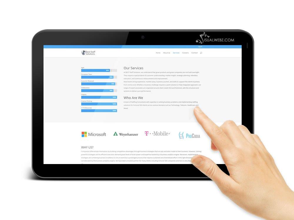 Visualwebz.com Best-Staff-WordPress-Website-tablet