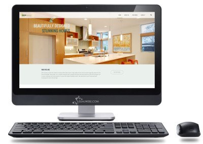 Home Constructions Website Design