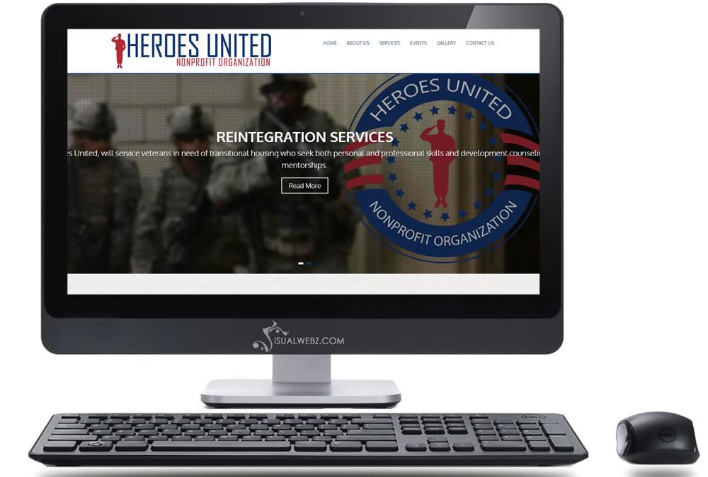 Non Profit Website – Heroes United