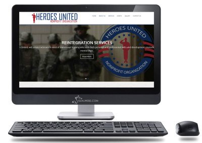 Non Profit Website – Heroes United