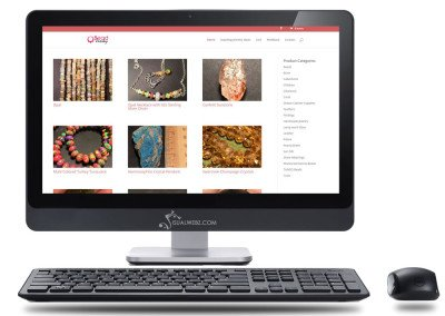 Seattle Web Design - e-commerce-website-bead-junky