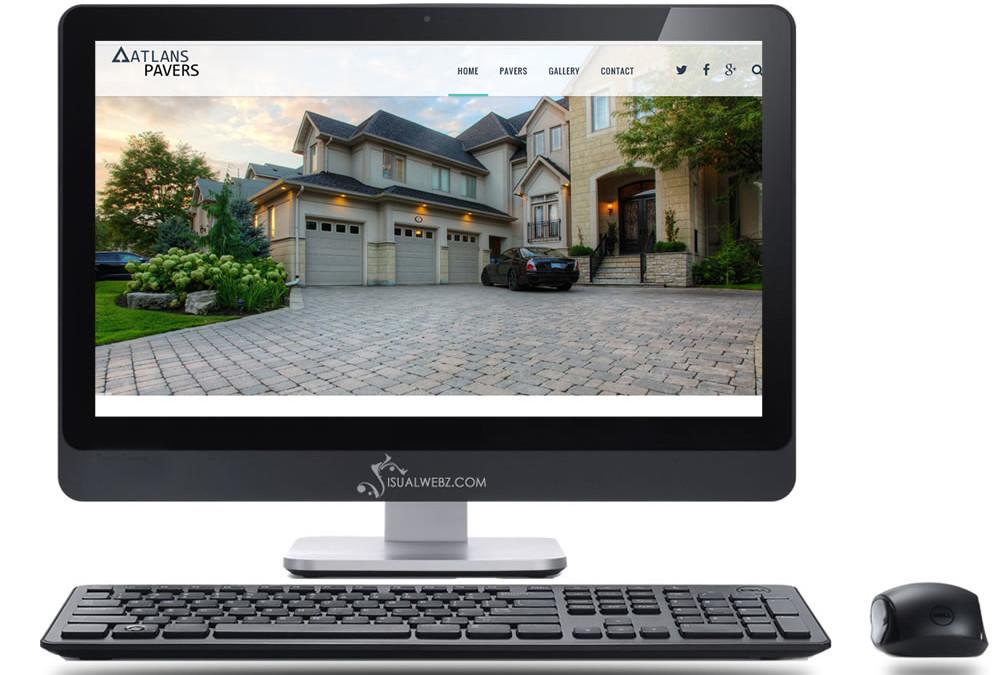 WordPress Website Design – Atlan Pavers, Bellevue, WA