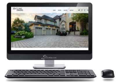 WordPress Website Design – Atlan Pavers, Bellevue, WA