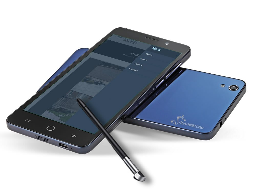 Seattle Web Design - wordpress-website-atlan-pavers-phone