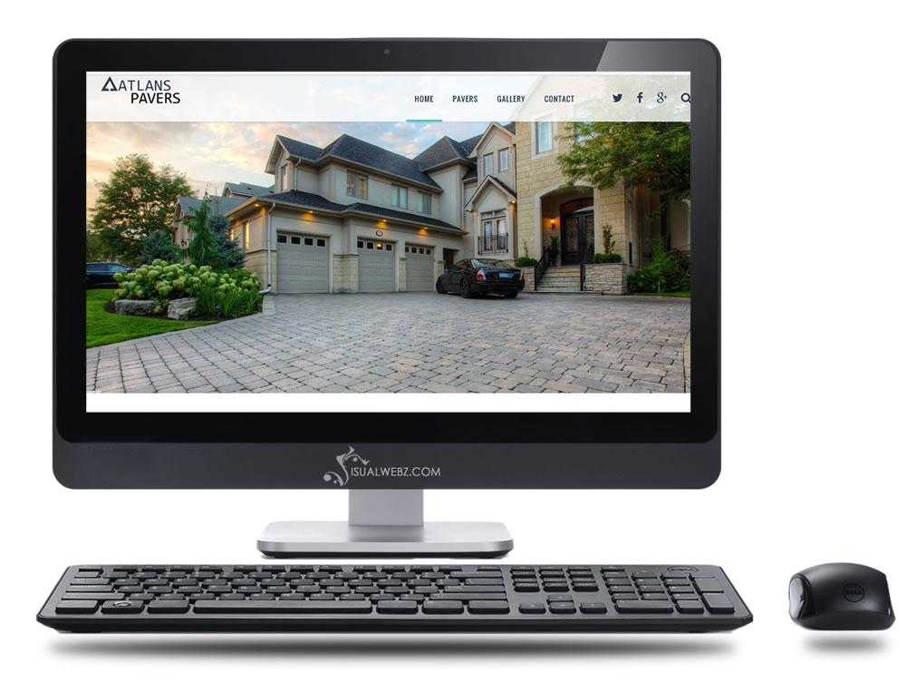 Seattle Web Design - wordpress-website-atlan-pavers