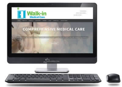 VA Medical Website Design