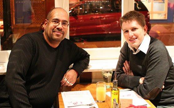 Matt Mullenweg and Mike Little