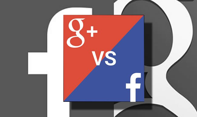 db7e27cf5743 Facebook vs Google Plus - Visualwebz - Web Design
