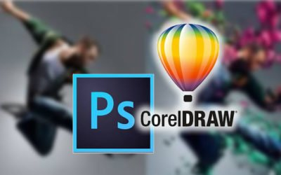 Photoshop vs CorelDraw