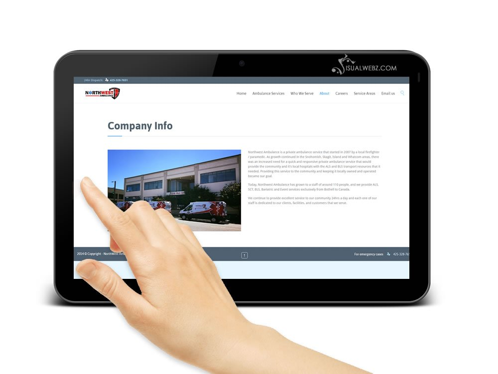 visualwebz-visualwebzcom-Norwest-ambulance-website-design-co