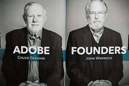 History of Adobe - Adobe Founders - VisualwebzCom- Visualwebz-Renton-WA-98058