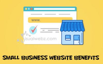 Small Business Website Benefits
