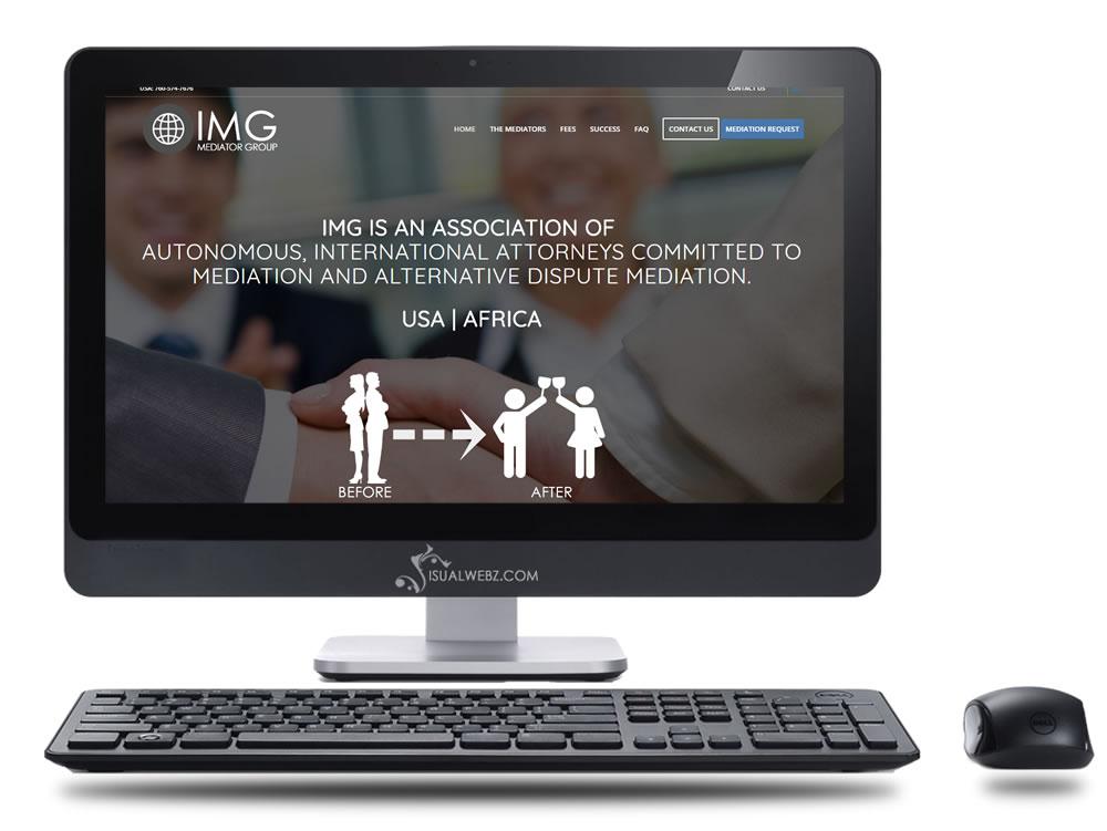 California Web Design for Mediators - Visualwebz com - SEO