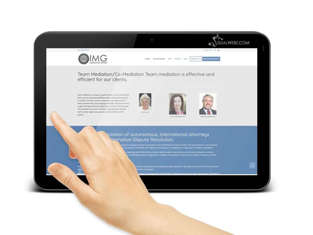 California Mediators Website Design