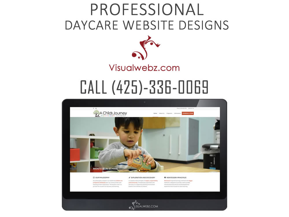 Daycare Website Designs