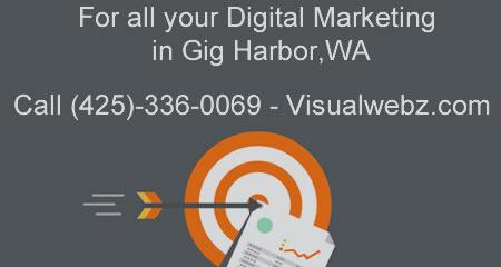Gig Harbor Digital Marketing | Website Design Call (425)-336-0069