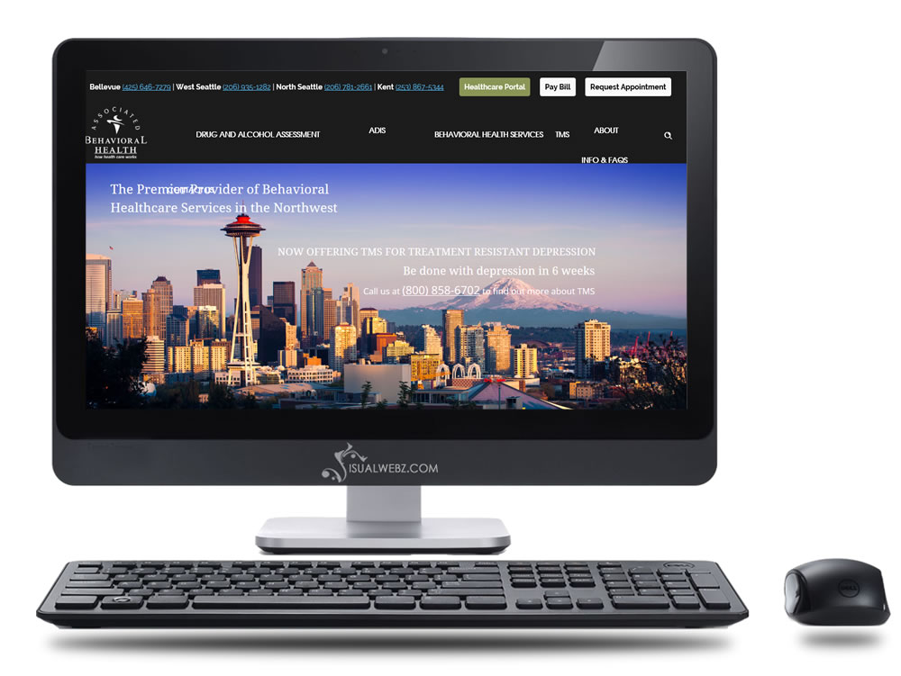 Bellevue WA Healthcare Website Design