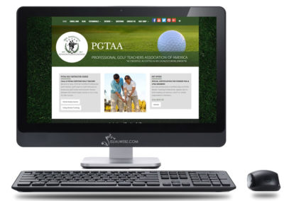 Golfing Website Design