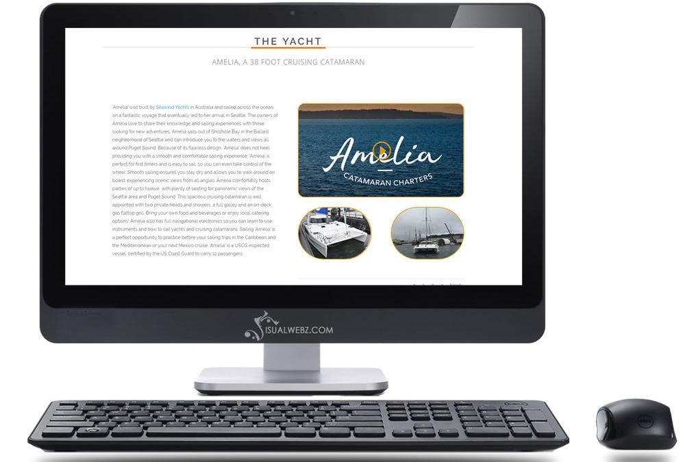 Seattle Cruise Website Design