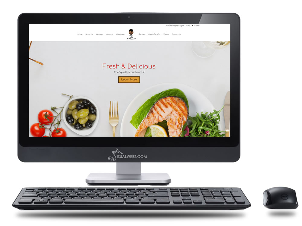 Food Website Design for NY Business