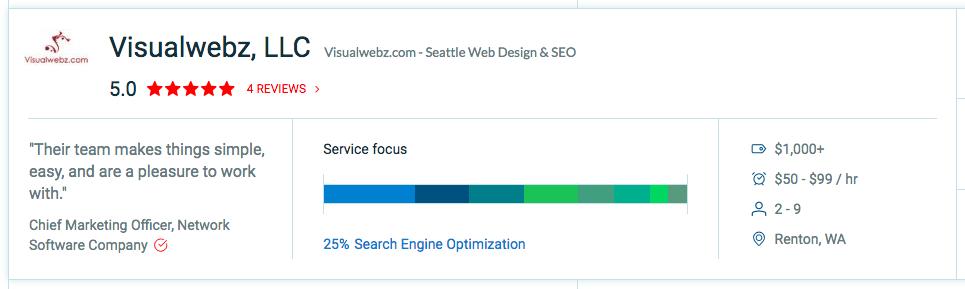 Visualwebz Top Digital Marketing Agencies Seattle - Top Global SEO Company
