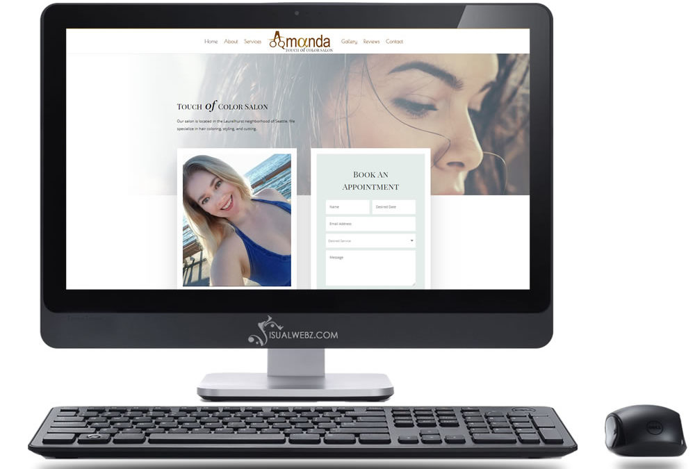Seattle Salon Web Design