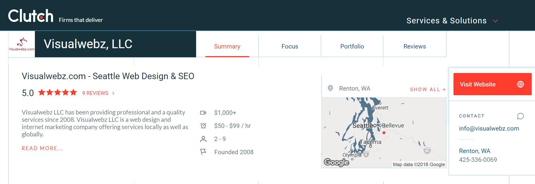 Top Web Designers USA Seattle Bellevue - Top Web Designers USA
