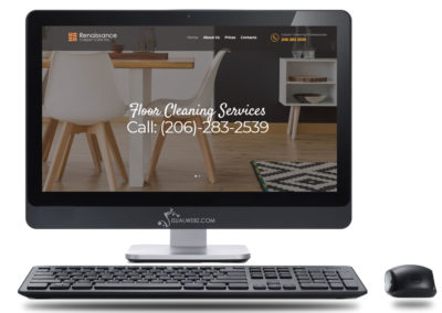 Seattle Carpet Cleaning Web Design