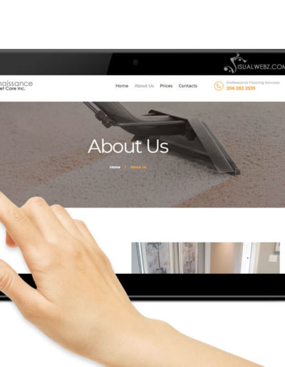 tablet-website-design-screen