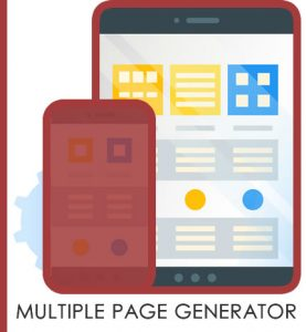 Multiple Page Generator icon