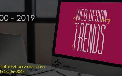 Web Design Trends 2000-2019