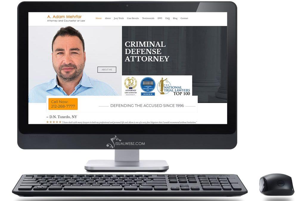NY Attorney Web Design