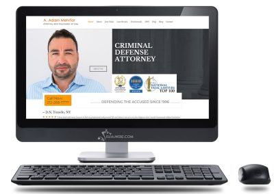 NY Attorney Web Design