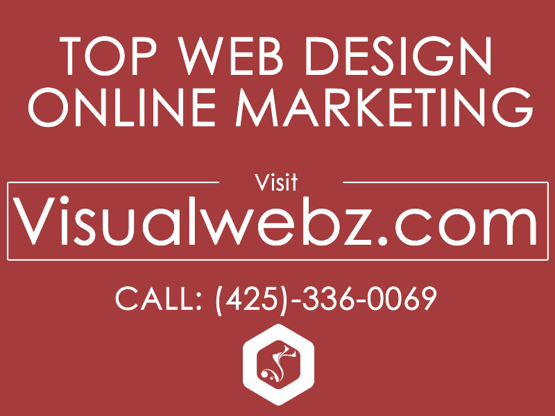 Seattle Web Design Visualwebz - Seattle Small Business Website Design