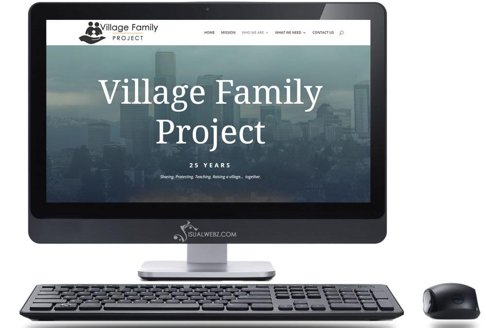 Seattle Web Design for VillageFamilyProject