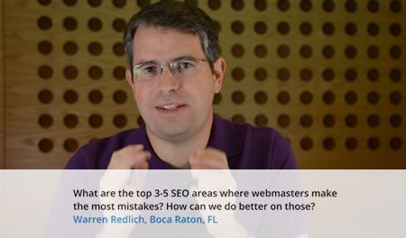 Common SEO Mistakes Video - Seattle SEO Company