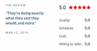 Seattle SEO 5-star review