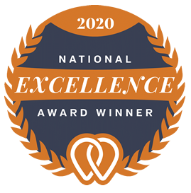 National Excellence Award Winner for Seattle Web Design Agency