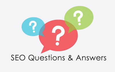 SEO Q & A for Customers – Before an SEO project start