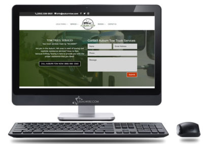 Auburn Towing Company Web Services