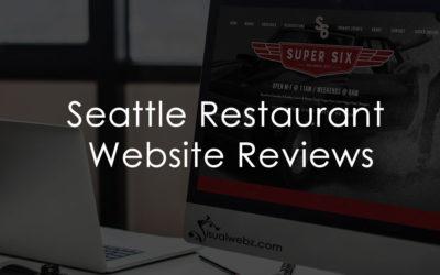 Seattle Restaurant Website Design & Reviews