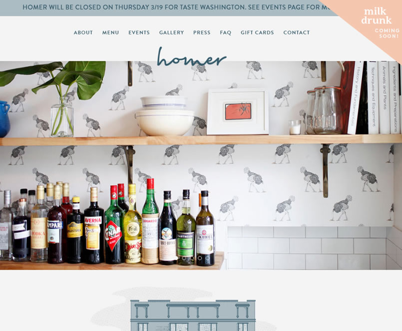 Seattle Restaurant Website 1Seattle Web Design - Seattle Restaurant Website Design & Reviews
