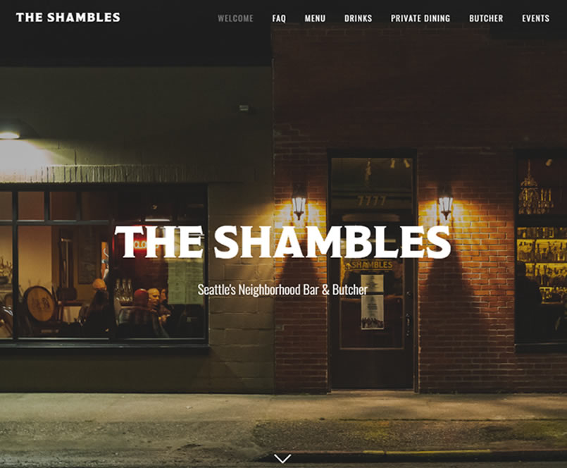 Seattle Restaurant Website 4 Seattle Web Design - Seattle Restaurant Website Design & Reviews