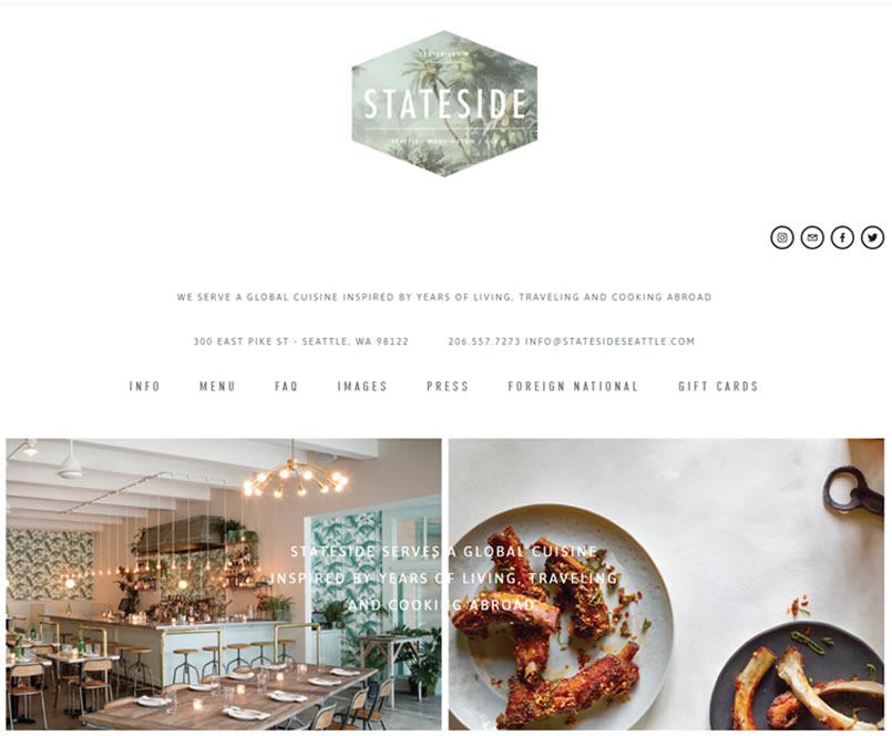 Seattle Restaurant Website 5 Seattle Web Design - Seattle Restaurant Website Design & Reviews
