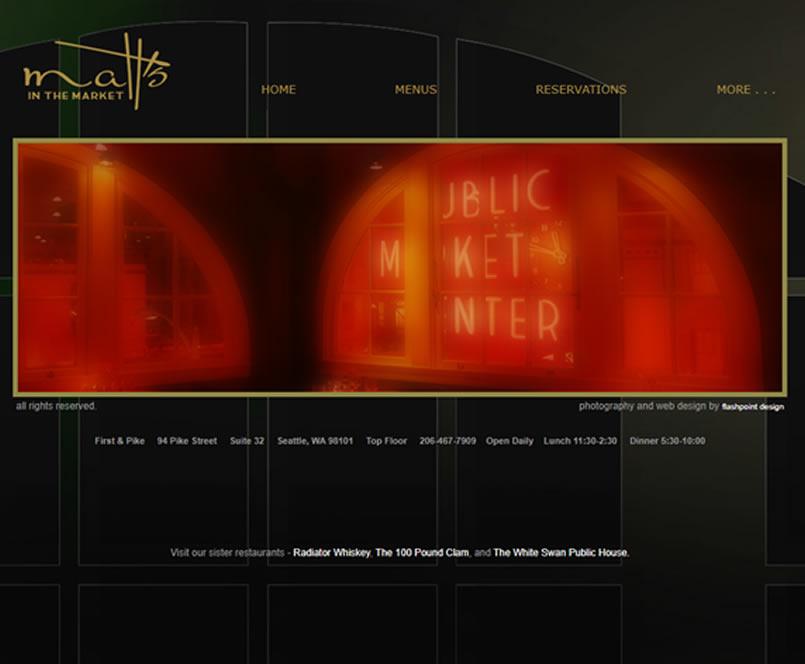 Seattle Restaurant Website 8 Seattle Web Design - Seattle Restaurant Website Design & Reviews