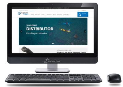 Distributor Website Project for Washington Based Wholesaler